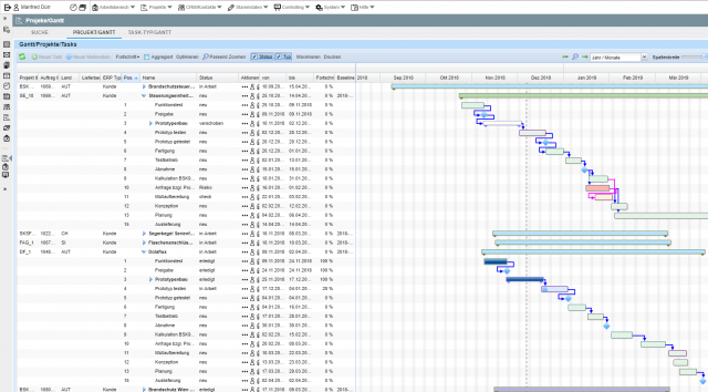 Multi-Project Management