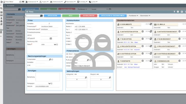 Integrated ERP – CRM – SCM Workflow System